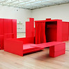 Modern Furniture Exhibit at Los Angeles County Art Museum in California