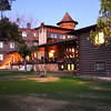 El Tovar Lodge at Dusk at the Grand Canyon in Arizona