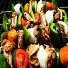 Shish Kabobs at the Orange County Fair in Costa Mesa CA