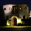 Palm Springs Home at Night