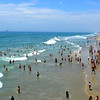 Huntington Beach During US Open in California