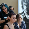 Getting Hair Braided at the US Open in Huntington Beach California