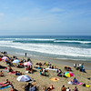 Nice Beach Day at Huntington Beach During the US Open
