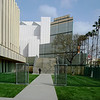 Walking at the Los Angeles County Art Museum in California 2