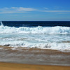 Surf and Sand at the Wedge at Newport Beach California 2