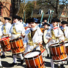 Fife and Drum Music Parade in Williamsburg VA