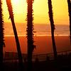 Sunset at Huntington Beach California