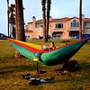 Hammock at Huntington Beach California