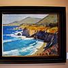 Nice Oil Painting of Coastline in Newport Beach California