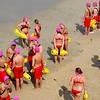 Junion Lifeguard at Huntington Beach California