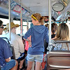 Inside Shuttle Bus at the Grand Canyon in Arizona