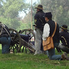 Getting Ready to Shoot Again at the Civil War Reenactment in Huntington Beach CA
