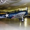 Air Force World War II Training Aircraft in Tillamook Air Museum in Oregon