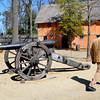 Canon from the Revelutionary War in Jamestown VA