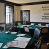 Room in Capitol Where Declaration of Independence was drafted by Thomas Jefferson at Williamsburg VA